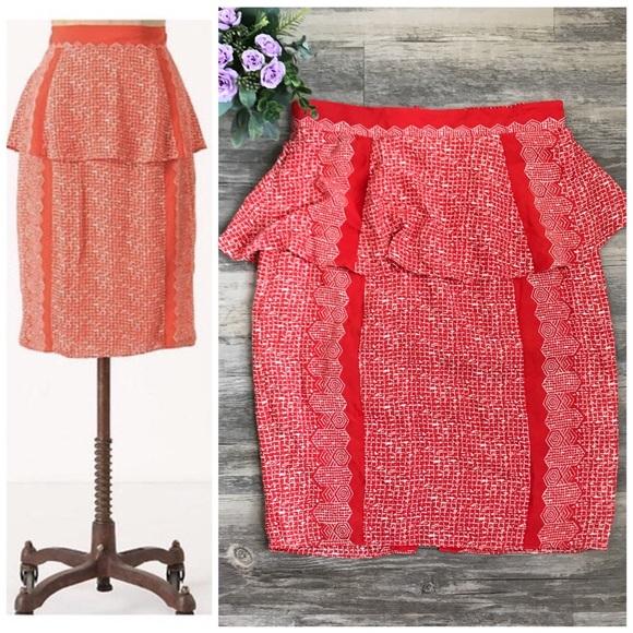c996a00e6 Anthropologie Dresses & Skirts - Plenty by Tracy Reese Broken Levels Skirt